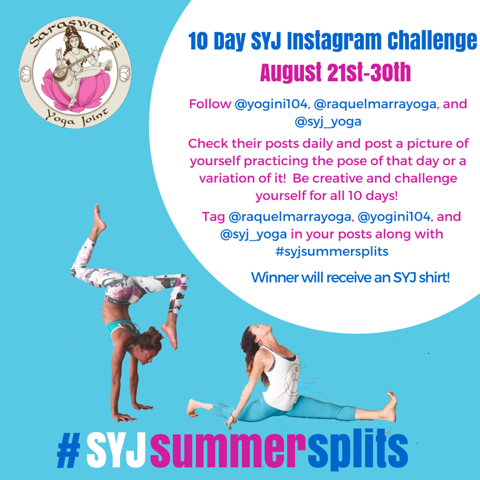 Join Raquel and Emily on Instagram Challenge